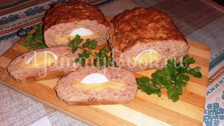 Куриный рулет с сыром и яйцом - шаг 4