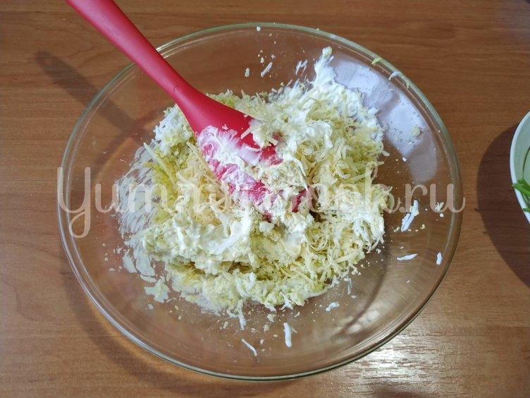 Закуска на ананасовых кольцах - шаг 1