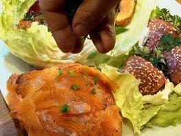 Четыре блюда из сёмги