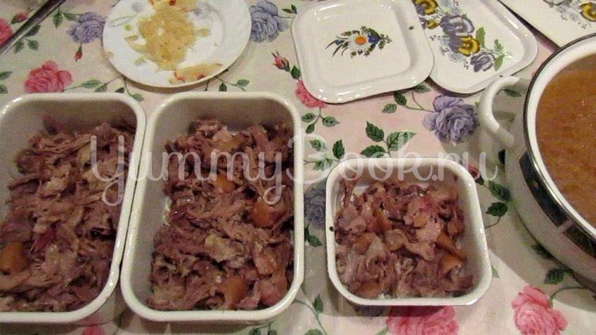 Холодец со свининой и говядиной - шаг 2