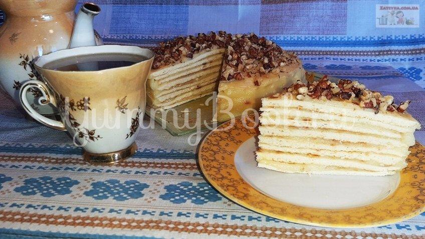 Торт на сковороде с заварным кремом - шаг 5