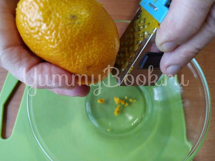 Легкий творожный кекс с мандаринами (без муки) - шаг 3