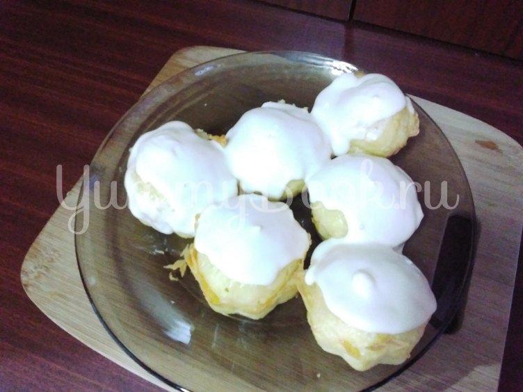 Сырные маффины с кремом - шаг 4