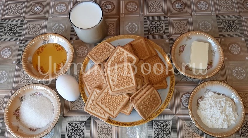 Медовое пирожное без выпечки - шаг 1