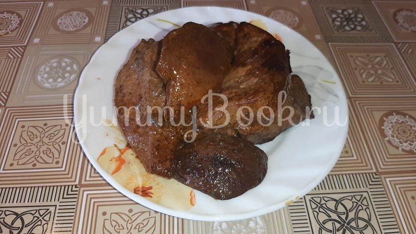 Печень в пряной медовой глазури - шаг 3