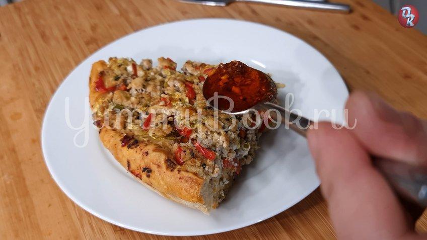 Ленивый пирог с фаршем и капустой - шаг 7