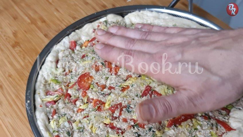 Ленивый пирог с фаршем и капустой - шаг 5
