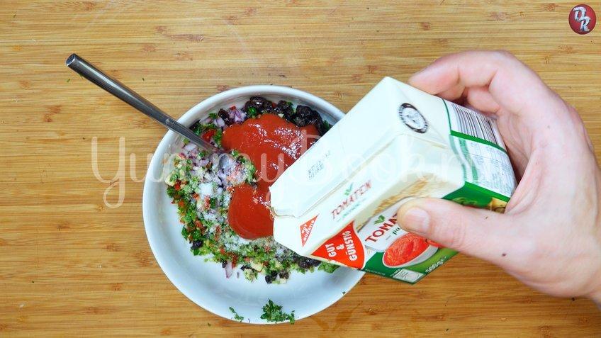 Мидии, запечённые с сыром, в пряном соусе - шаг 5