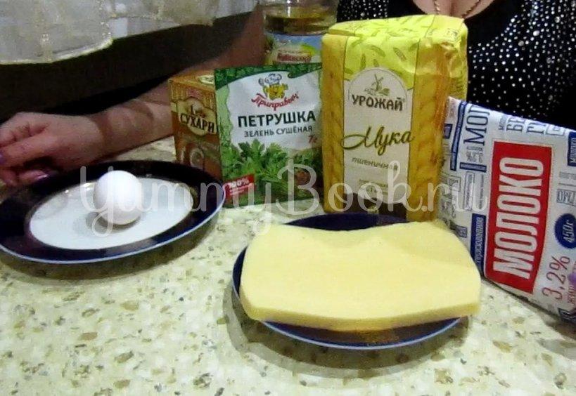 Горячая закуска из сыра в кляре (Сырные палочки) - шаг 1
