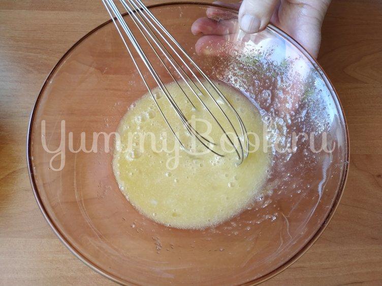 Пудинг из тыквы с яблоками - шаг 4