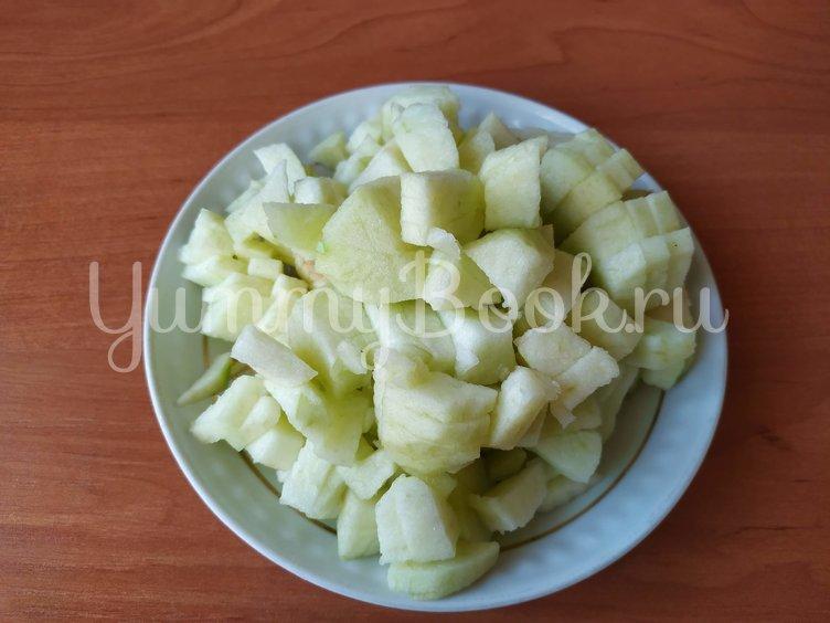 Пудинг из тыквы с яблоками - шаг 2