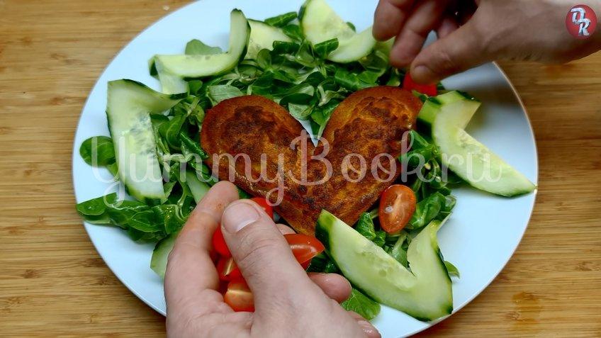 Картофельное сердце - шаг 8
