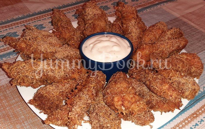 Стрипсы из куриного филе в духовке - шаг 3