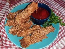 Стрипсы из куриного филе в духовке