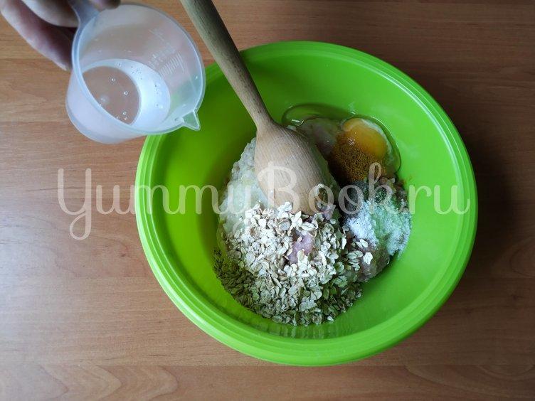 Домашние колбаски из фарша в духовке - шаг 2