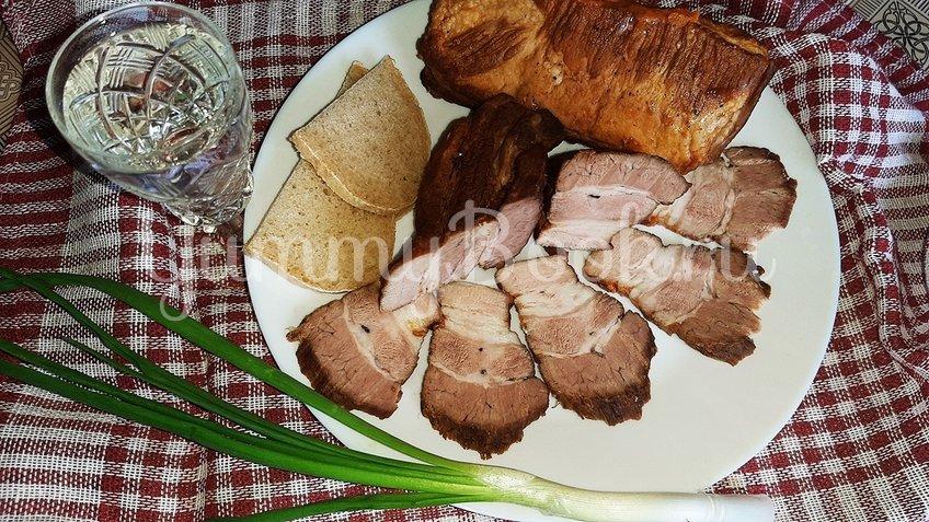 Свиная грудинка в тёмном пиве на сковороде - шаг 3