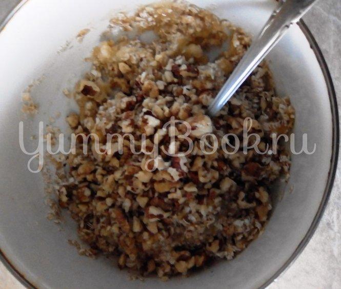 Овсяное печенье с орехами - шаг 3