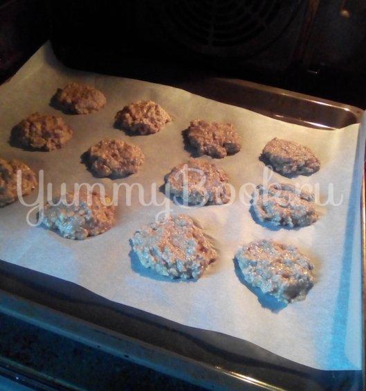 Овсяное печенье с орехами - шаг 5