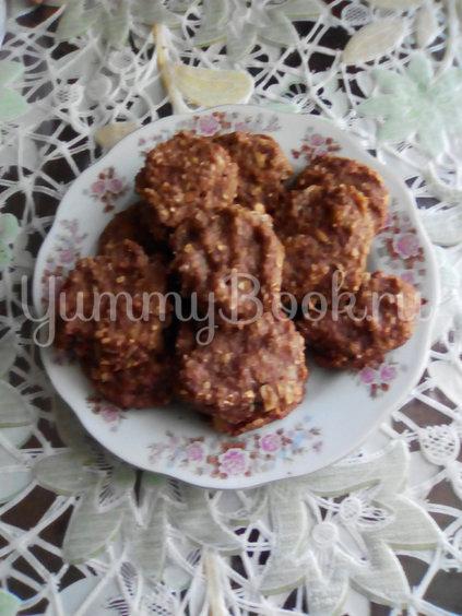 Овсяное печенье с орехами - шаг 6