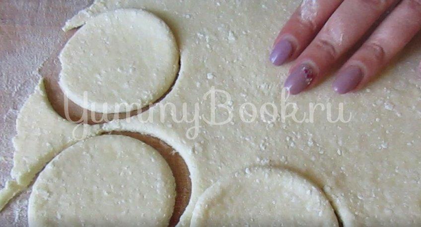 Пасхальное творожное печенье с курагой - шаг 2