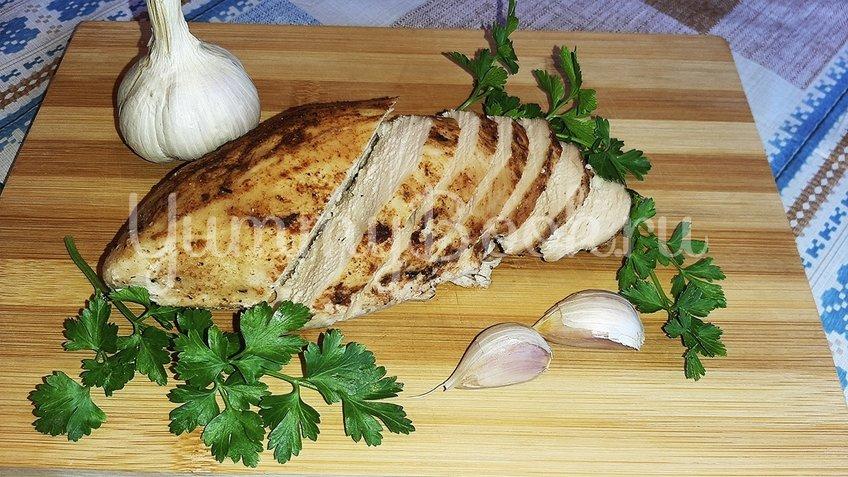 Куриное филе в горчично-чесночном маринаде - шаг 3