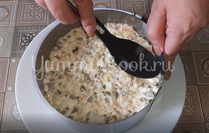 Картофельный салат с копченым лососем - шаг 2