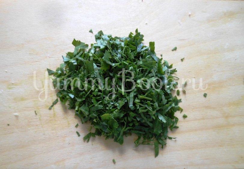 Тёплый салат с стручковой фасолью - шаг 6