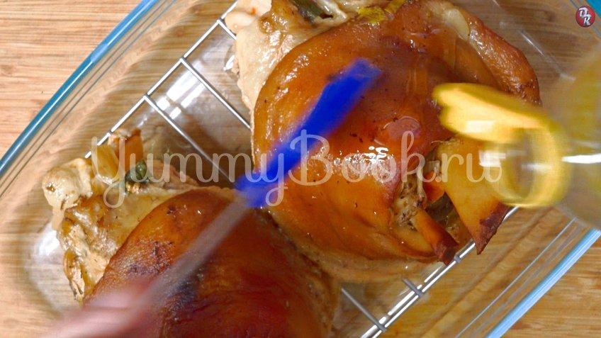 Свиная рулька запеченная в пиве  - шаг 6