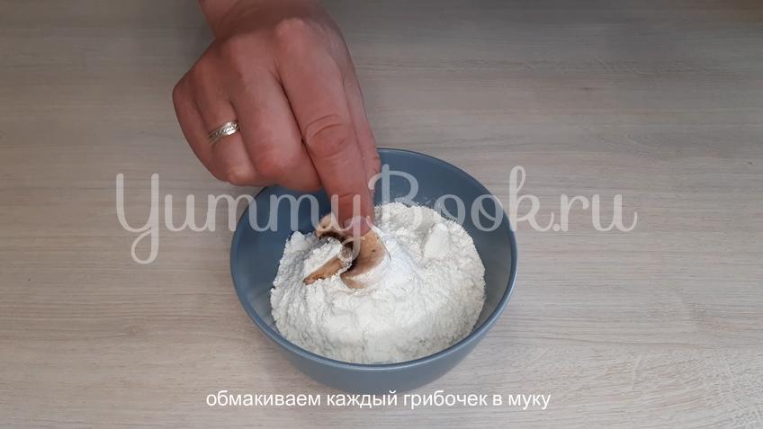 Закуска из шампиньонов с чесночным соусом - шаг 9