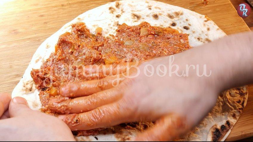 Пицца на лаваше - шаг 4