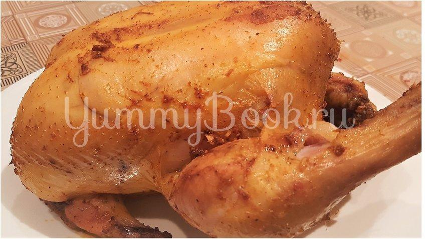 Курица, запеченная в духовке целиком - шаг 3