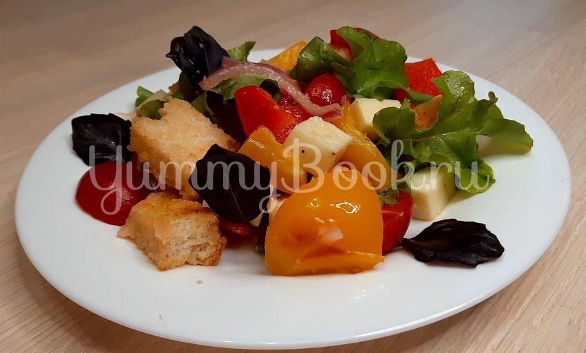 Тосканский овощной салат Панцанелла - шаг 21
