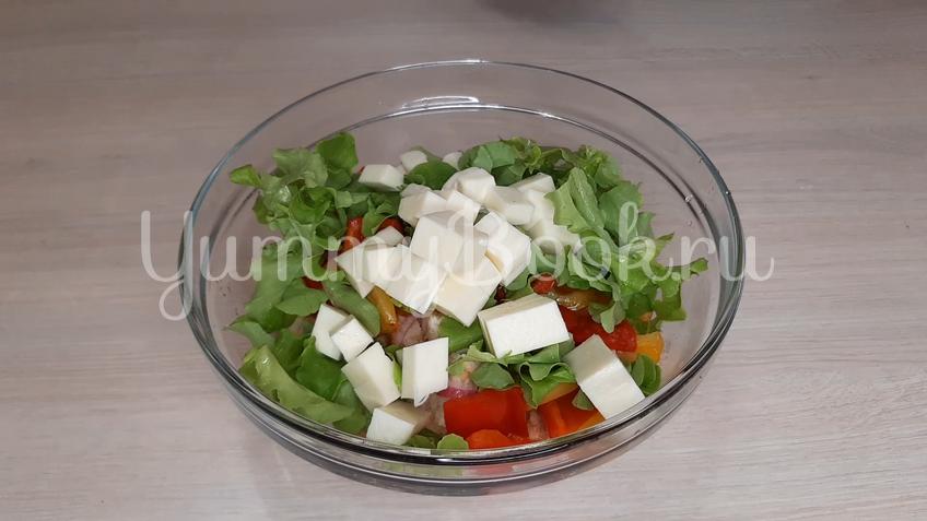 Тосканский овощной салат Панцанелла - шаг 19