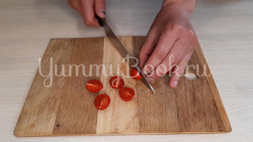 Тосканский овощной салат Панцанелла - шаг 10