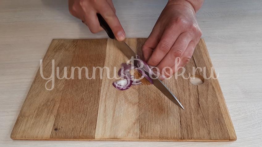 Тосканский овощной салат Панцанелла - шаг 1