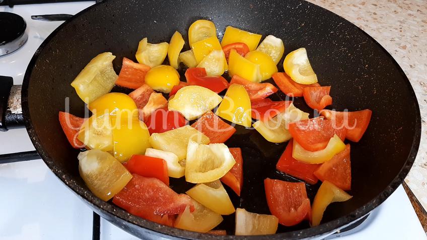 Тосканский овощной салат Панцанелла - шаг 12