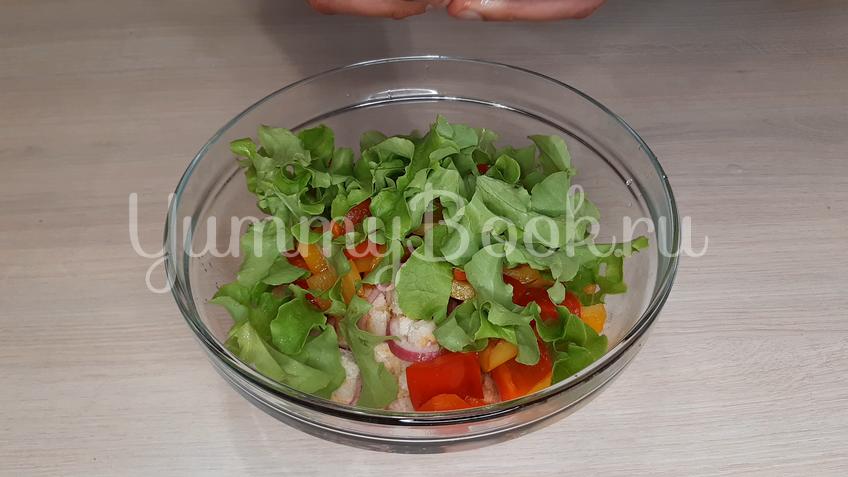 Тосканский овощной салат Панцанелла - шаг 18