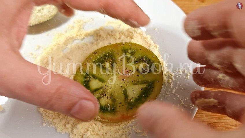 Жареные зеленые помидоры с беконом - шаг 3