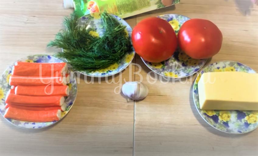 Салат «Весенний бриз» - шаг 1