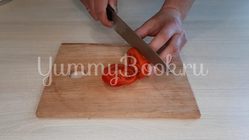 Омлет с помидорами и сыром - шаг 1
