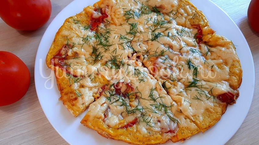 Омлет с помидорами и сыром - шаг 10