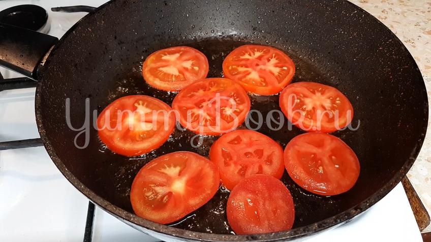 Омлет с помидорами и сыром - шаг 5