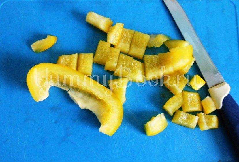 Линь, фаршированный овощами и запечённый в духовке - шаг 5