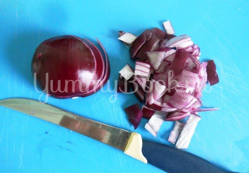 Линь, фаршированный овощами и запечённый в духовке - шаг 3