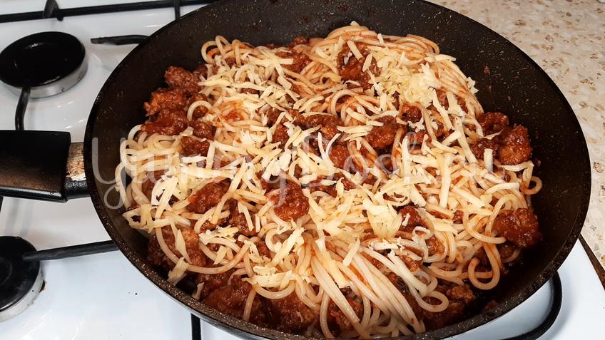 Упрощенная паста Болоньезе - шаг 7