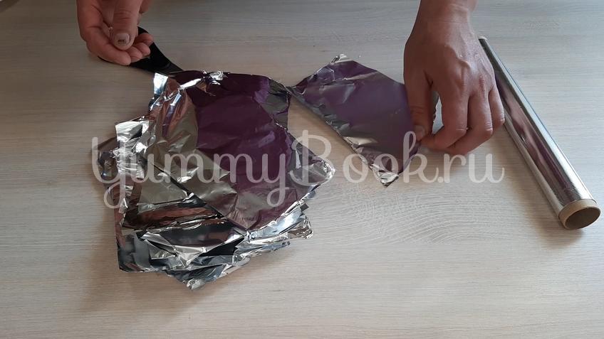 Картошка запечённая с салом - шаг 2