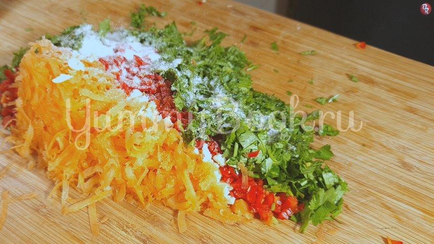 Квашеные фаршированные зеленые помидоры - шаг 4