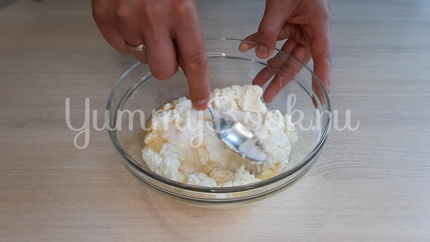 Детское творожное печенье  - шаг 5