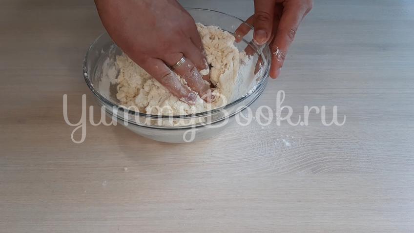 Детское творожное печенье  - шаг 7