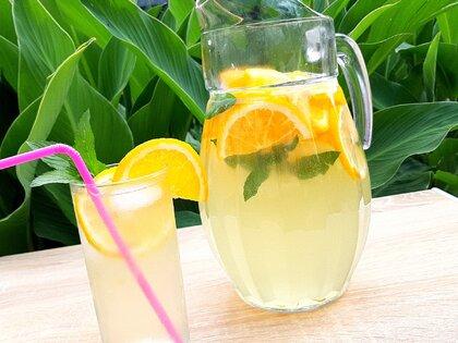 Домашний освежающий лимонад